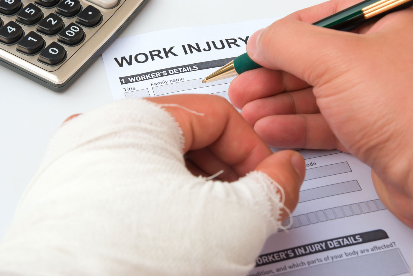 Hurt on the job? What are your next steps?
