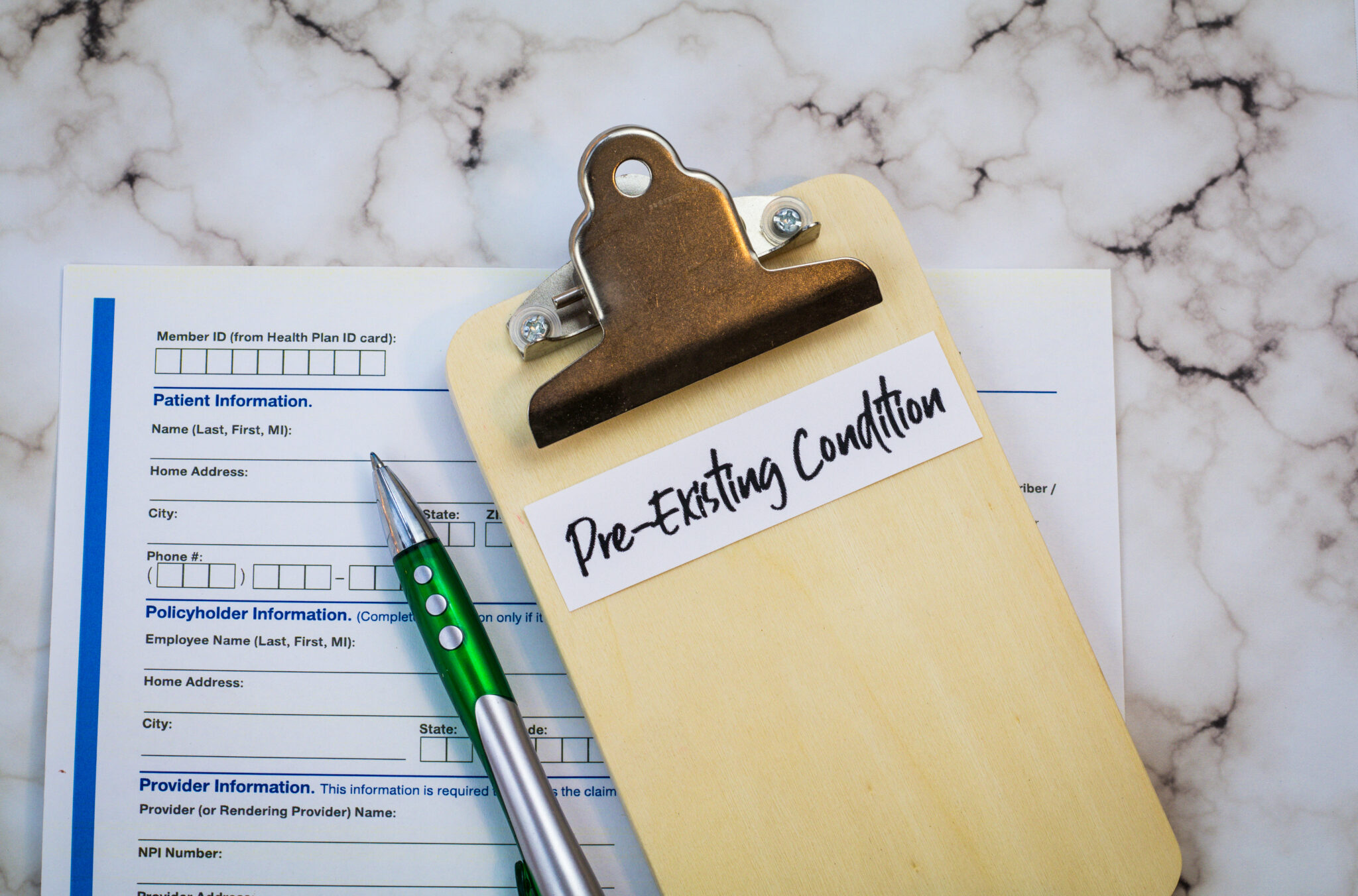 Pre-existing medical conditions and workers' compensation